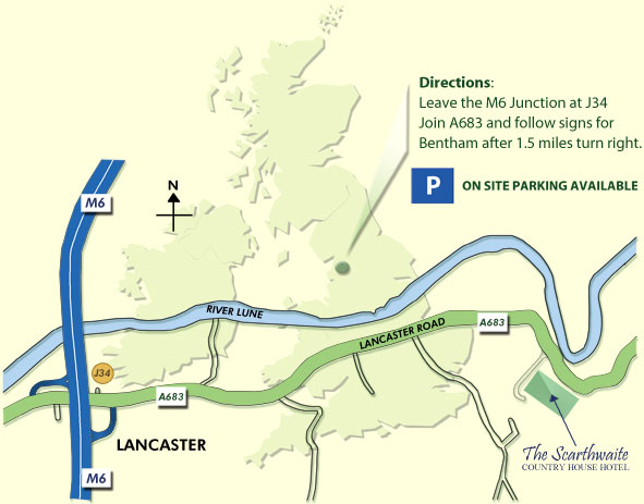 Directions to the Scarthwaite